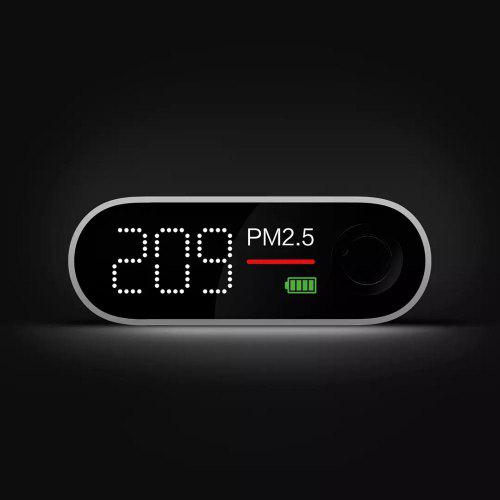 Youpin Smartmi PM2.5 Detector Portable Eco Chain Product  LED Screen Mini Sensitive Air Quality Tester For Home Office