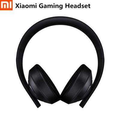 Фото - Xiaomi Mi Gaming Headset 7.1 Virtual Surround Sound Headphones With Microphone LED Light Noise Cancelling Volume Control Gift twinklecat stars luminous kids plus toys pillow christmas toys led light plush pillow hot colorful stars kids birthday gift toy