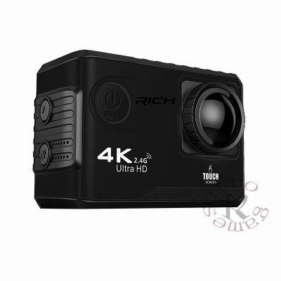 F100B Action Camera 4K Ultra HD 2.4G Wifi Mini Camera 2.0 Touch screen 1080P Cam Video Outdoor Helmet Camara 3 lens wdr dash camera 4 inch display hd 1080p car dvr video recorder 170 degree wide angle with water resistant rear camera