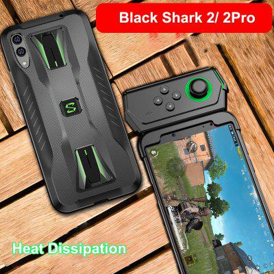 Case Soft TPU Shockproof Heat Dissipation Gaming Cover for Xiaomi Black Shark 2 Funda Support Gamepad