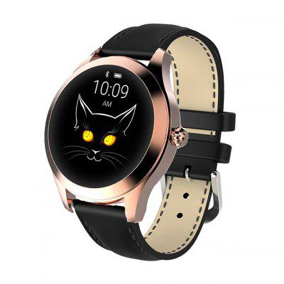 Women Lovely Bracelet IP68 Waterproof Smart Watch Heart Rate Monitor Sleep Monitoring Smartwatch Connect IOS Android KW10 Band