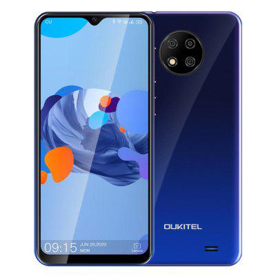 OUKITEL C19 6.49 inch HD+ 2GB 16GB Smartphone MTK6737 Ouad Core Android 10.0 Mobile Phone 4000mAh TYPE-C