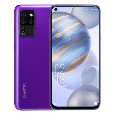 OUKITEL C21 Helio P60 Quad Camera 20MP Selfie 6.4 inch FHD+ Hole Punch Screen 4000mAh Octa Core 4+64GB Phone 4G Celular Smartphone