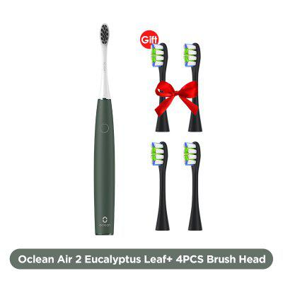2020 New Arrival Oclean Air 2 Sonic Electric Toothbrush Noise Reduction Gentle Cleaning Teeth Magnetic Fast Charging 40 Days