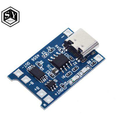 1PCS Great IT 5V 1A Micro USB 18650 Type-c Lithium Battery Charging Board Charger Module+Protection Dual Functions TP4056