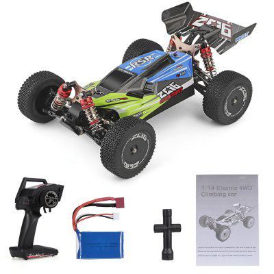 Wltoys XKS 144001 RC Car 60kmh High Speed 1/14 2.4GHz Buggy 4WD Racing Off-Road Drift RTR Remote Control Toy