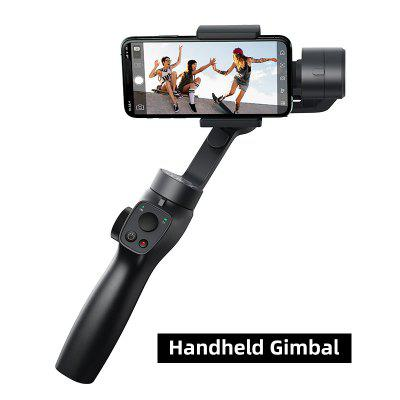 Baseus 3-Axis Wireless Bluetooth Handheld Gimbal Phone Stabilizer for iPhone Huawei Tripod Gimbal Stabilizer Gimal Smartphone feiyutech feiyu g6 max 3 axis handheld camera gimbal stabilizer for rx100ⅳ for gopro hero 7 6 5 smartphone for canon eosm50