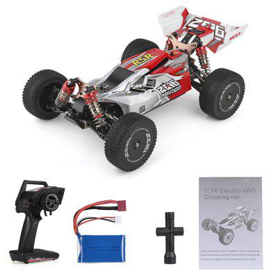 Wltoys XKS 144001 RC Car 60kmh High Speed 1/14 2.4GHz RC Buggy 4WD Racing Off-Road Drift Car RTR Remote Control Toy 1 12 mn 90k rc crawler car 2 4g 4wd remote control big foot off road crawler military vehicle model rtr remote control truck toy