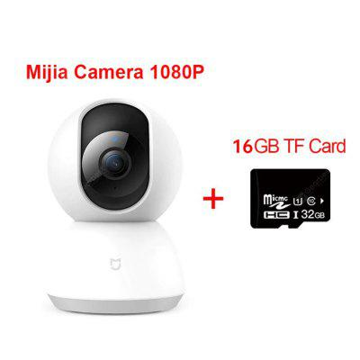 Original Mijia 1080P Smart Camera IP Cam Webcam Camcorder 360 Angle WIFI Wireless Night Vision AI Enhanced Motion Detect