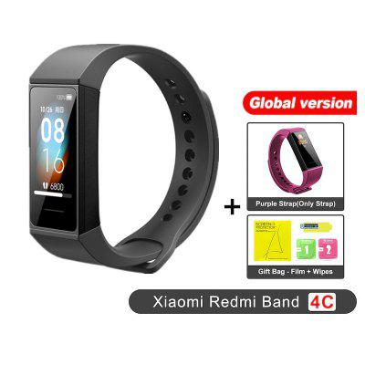Redmi Band 4C Smart Wristband Fitness Tracker 1.08 inch Color Screen BT5.0 USB Charging Bracelet