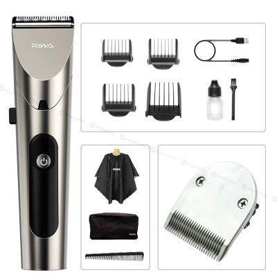 Electric Hair Clipper For Men Professional Trimmer Machine USB Rechargeable Cutting Beard Washable