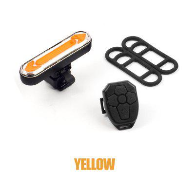 Bike Light Remote Turn Signal Bicycle Tail for USB Rechargeable Rear LED Safety Warning Lantern