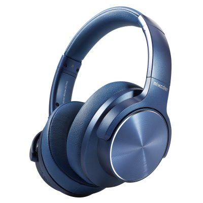 Фото - Headphones Wireless Bluetooth Active Noise Cancelling Headphone USB Fast Charging with MIC Blue Headsets behind the head sport bluetooth wireless headphone