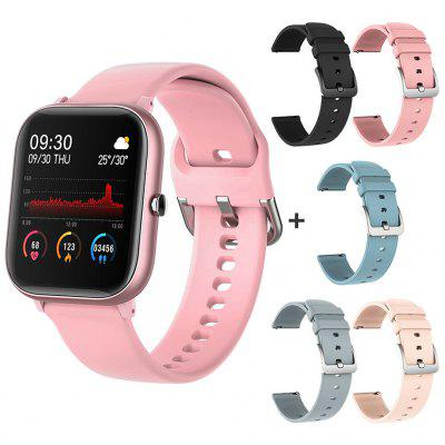 SQR P8 SE Smart Watch Men Women 1.4 Inch Fitness Tracker Full Touch Screen Heart Rate Blood Pressure Monitor for iOS Android