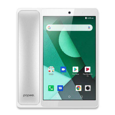 2020 New Poptel Wireless Smart Tabletphone 8 Inch 2g 16g Bluetooth Handset Android 8.1 Videophone with Hotspot Dropshipping Deal