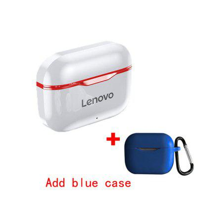 Original Lenovo LP1 TWS Bluetooth Wireless Earphone  Headset Sports Suitable for IPhone 12 Android Games Long Standby Time