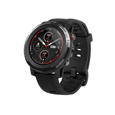 Global version Amazfit Stratos 3 GPS smartwatch 5ATM Bluetooth Music Heart Rate DualMode 14DaysBattery 1.34 inch for IOS Andriod