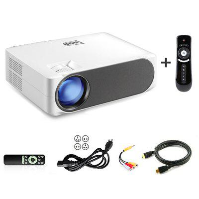 Фото - AUN Full HD Projector AKEY6/S 6800 Lumens 1920x1080P Home Cinema Optional Android 6.0 WIFI HDMI VGA for GYM 4K Video Proyector vdeo action camera ultra hd 4k 30fps wifi 170d waterproof video helmet recording sports camera