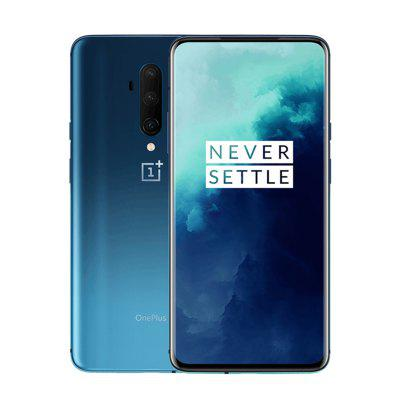 Original OnePlus 7T Pro Global ROM Snapdragon 855 Plus 6.67 inch Fluid AMOLED 90Hz Refresh Rate Screen 48MP Triple Cam 4085mA