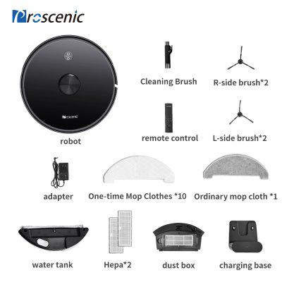 Фото - Proscenic M7 Pro 2700pa Laser Navigation Robot Vacuum Cleaner  with Wet Cleaning Washing Vacuum Cleaner Carpet cleaner for Home 32 mm inner diameter vacuum cleaner