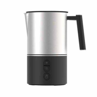 Automatic Electric Milk Frother Steamer Cappuccino Rechargeable Blender Travel Coffee