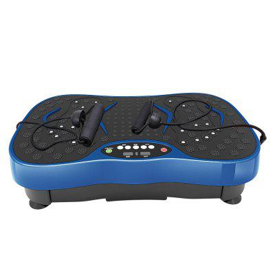 Vibration Plate Whole Body Exercise Machine with Touch LED Screen and 11 Programs Massage Fitness Platform