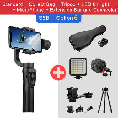 EKEN S5B 3 Axis Handheld Gimbal Stabilizer Cellphone Video Record Smartphone For Phone Action Camera VS H4