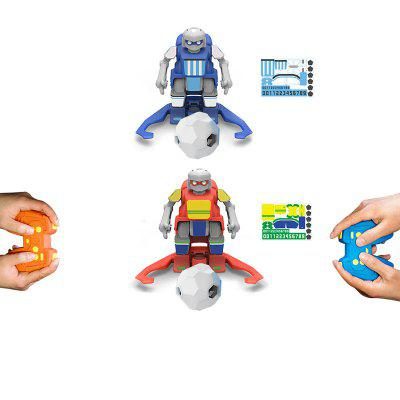 Football Robot Builder DIY Children Toys Robots Birthday Gifts for Boys Girls Kids World Cup