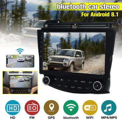 iMars 10.1 Inch 2 DIN Android 8.1 Car Stereo Radio 1+16G  MP5 Player GPS Navi WIFI FM AM for Honda Accord 2003-2007