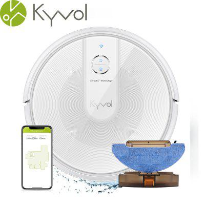 Kyvol Cybovac E31 Robot Vacuum Sweeping Mopping Robot Vacuum Cleaner with 2200Pa Suction Smart Navigation 150 mins Runtime