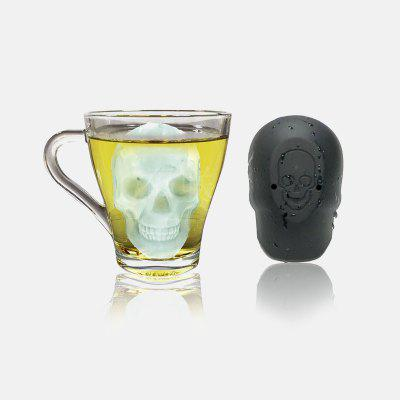 3D Skull Silicone Mold Ice Cube Maker Chocolate Mould Tray Cream DIY Tool Whiskey Wine Cocktail