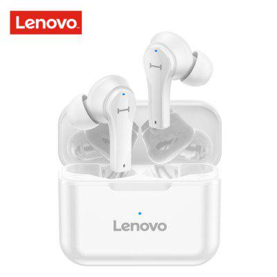 Lenovo QT82 TWS Wireless Bluetooth Earphone V5.0 Touch Control EarBuds Stereo HD Talking IPX5 Waterproof for Sport