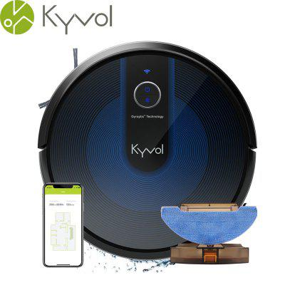 Kyvol Cybovac E31 Robot Vacuum Sweeping Mopping Cleaner with 2200Pa Suction Smart Navigation 150 mins Runtime