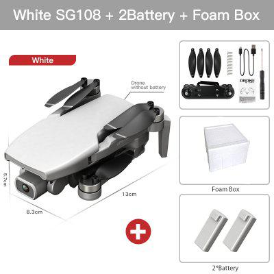 2020 New SG108 Drone 4k HD FPV Drone 5G WiFi GPS Dron Brushles Motor Flight For 25 Min RC Distance 1km RC Quadcopter VS Ex5 Dron brushless motor rc drone 5g wifi fpv 1080p hd camera gps follow me directs the flight one button return quadcopter