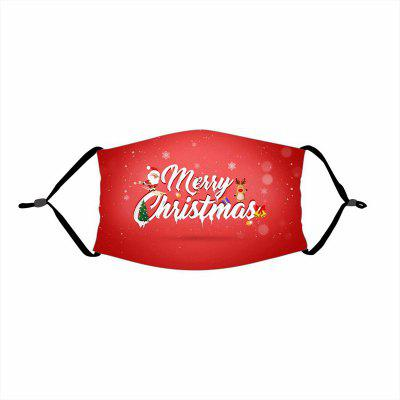 Non-medicial Mask Merry Christmas Gift Decorations For Home Xmas Decor Santa Claus Deer Bear Happy New Year 2021