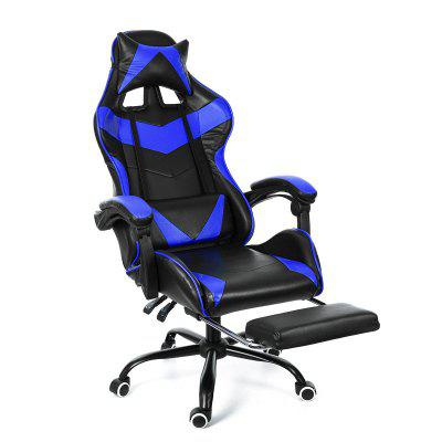 Leather Office Gaming Chair Home Internet Cafe Racing WCG Ergonomic Computer Swivel Lifting Lying Gamer