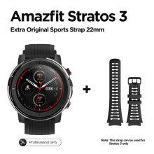 Global Version New Amazfit Stratos 3 Smart Watch GPS 5ATM Bluetooth Music Dual Mode 14 Days Smartwatch For Android 2019