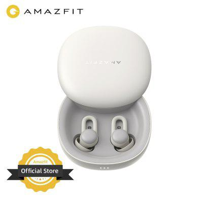 Amazfit Zenbuds Earphone Sleep Monitoring Noise Blocking Lightweight Long Battery Life TWS Type-C Charging Case for iOS Android