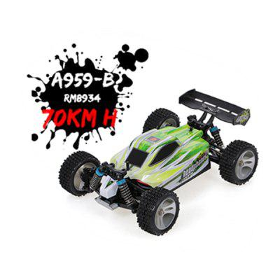 Фото - WLtoys A959-B A959 959-A RC Car 2.4GHz 4WD Rally Racing Car 70KM/H High Speed Vehicle RC Racing Car for Kids Adults new arduino 2wd 4wd rc car chassis motor
