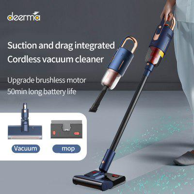 Deerma Wireless Vacuum Cleaner Household Vertical Handheld Suction And Drag Integrated Car Wireles