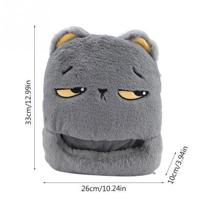 Cute Feet Warm Slippers USB Foot Warmer Shoes Computer PC Electric Heat Slipper for Home Travel Office voetverwarmers
