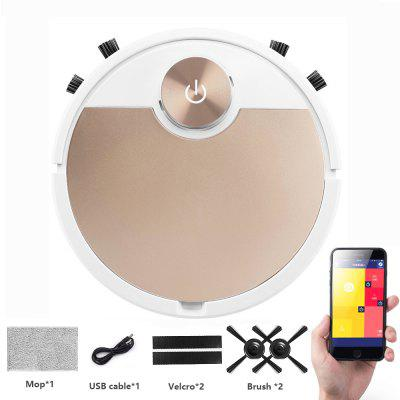 ES06 Robot Vacuum Cleaner Smart vaccum cleaner for Home Mobile Phone APP Remote Control Automatic Dust Removal cleaning Sweeper