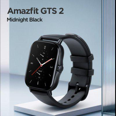 Original Amazfit GTS 2 Smartwatch 12 Sport Modes 5ATM Water Resistant AMOLED Display  All Day Heart Rate Tracking For Android