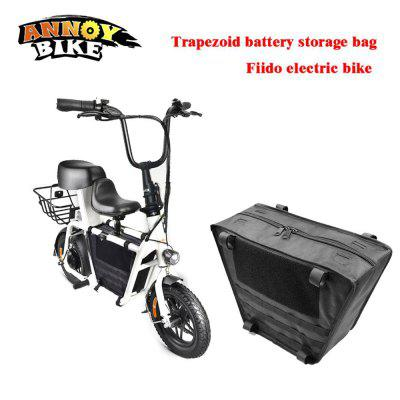 1108 fiido Bag Travel Electric Bike Trapezoid Thicken Waterproof Lithium Battery Storage
