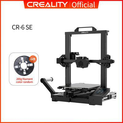 CREALITY 3D Printer New Super CR-6 SE Silent Mainboard Resume Printing Filament Free Gift