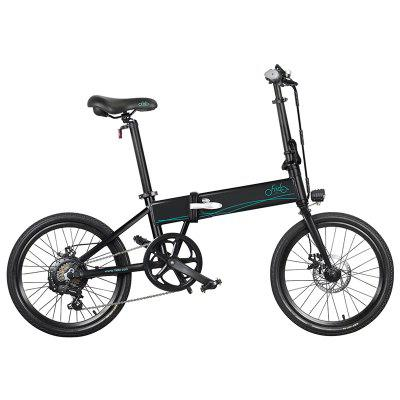 K1-010 FIIDO D4S Electric Bicycle 10.4ah 36V 250W 20 Inch Folding 25km / h Top Speed 80KM Mileage