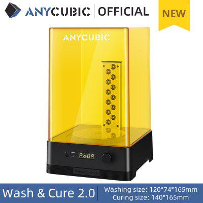 ANYCUBIC Wash & Cure 2.0 For UV Resin 3D Model Washing Curing 2-in-1 Machine 3d Printer impresora