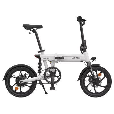 100% Original HIMO Z16 Electric Bicycle ebike 80KM Mileage 250w DC 10AH ebike Removable Battery Outdoor Electric bike