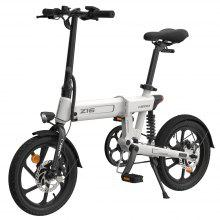 HIMO Z16 16 Inch Folding Power Assist Electric Bicycle Moped E-Bike 80KM Range 10AH