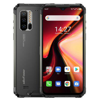 Ulefone Armor 7 Rugged Mobile Phone Android 10  2.4G/5G WiFi 8GB+128GB Helio P90 IP68  48MP CAM 4G LTE Global Version Smartphone